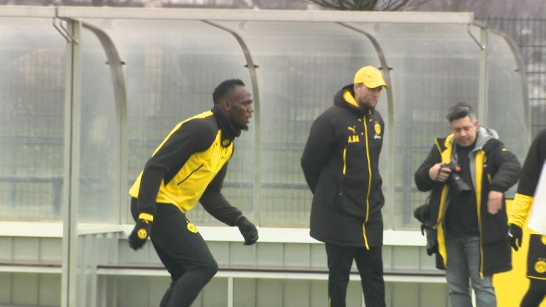 FASTEST MAN IN SOCCER? Usain Bolt to trial with A-League's Mariners