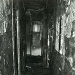 The hallway of the home after the fire. Pic: Metropolitan Police