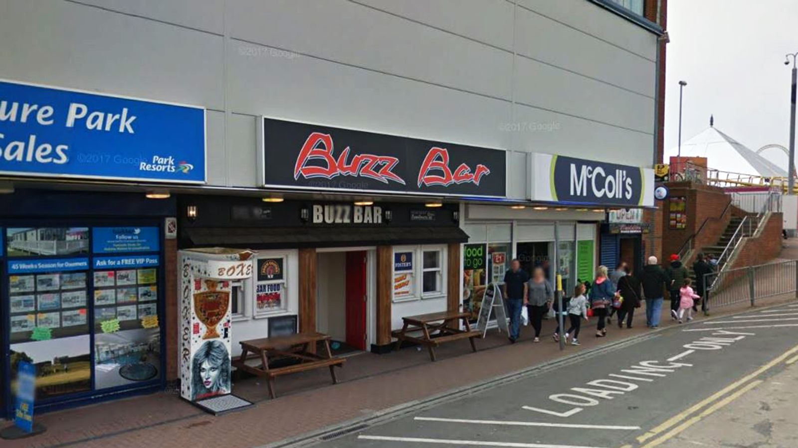 Woman, 52, dies in bar fight in Ingoldmells, Lincolnshire