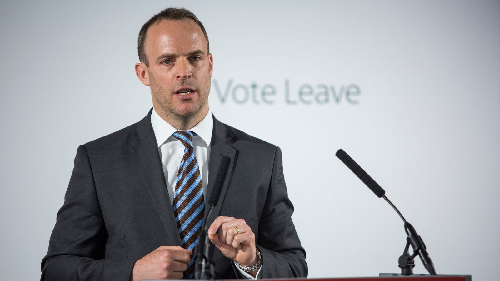 EU's Brexit opposition fuelling far-right, Dominic Raab suggests