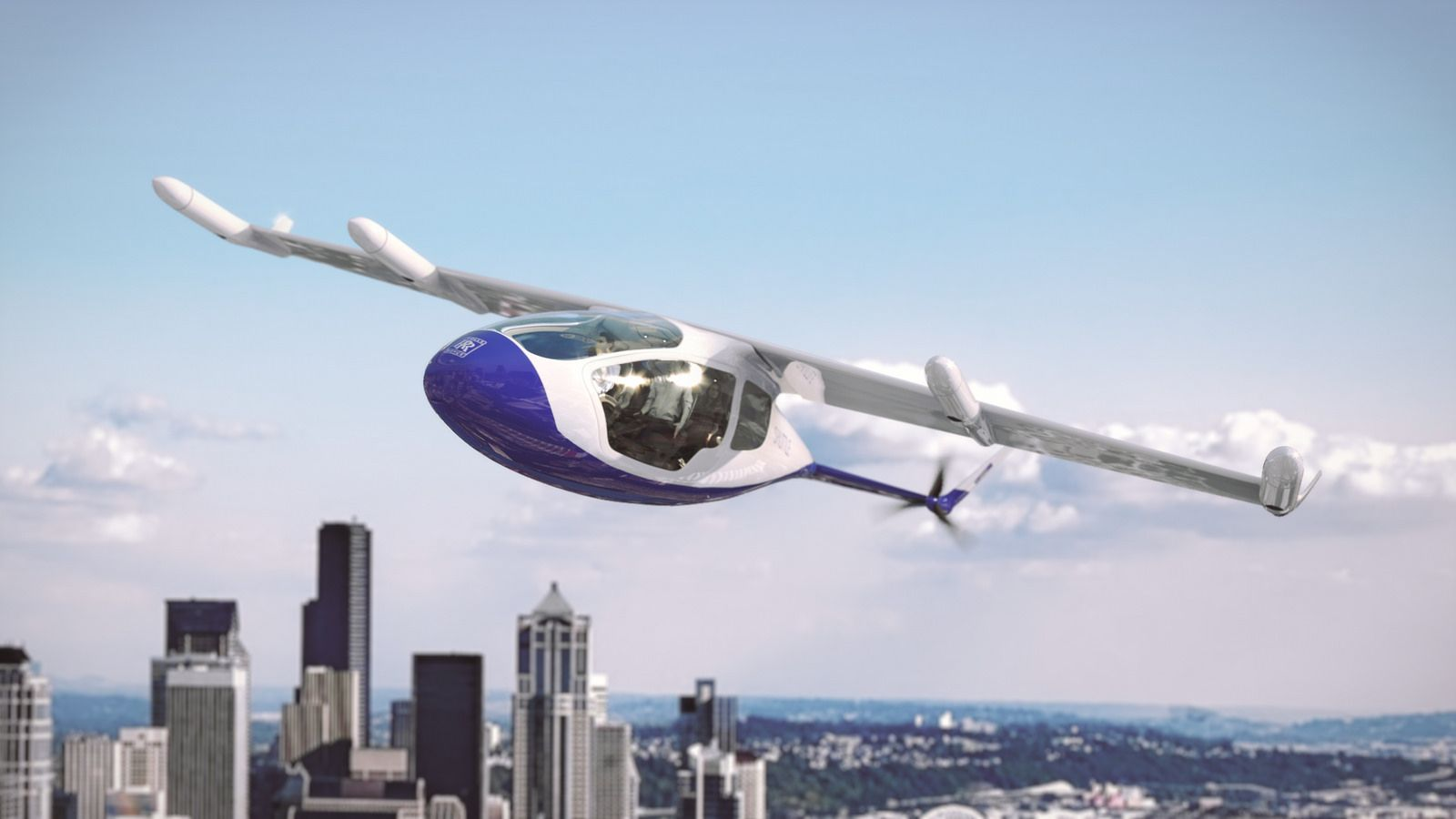 Vertical take-off technology could bring 'flying taxis' to the skies