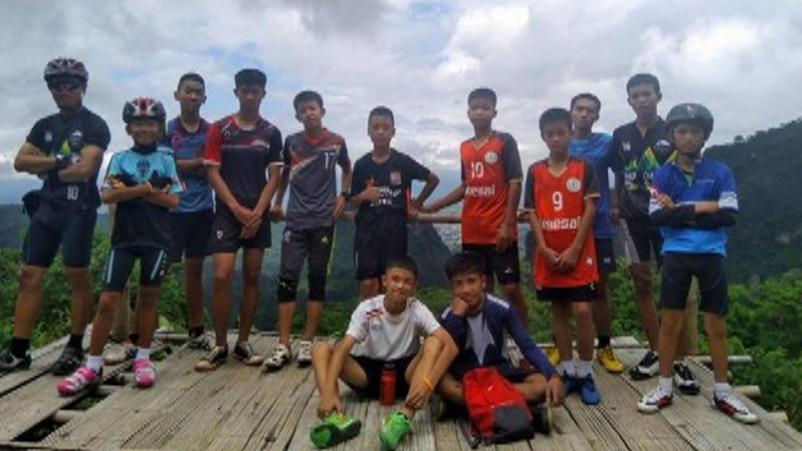 Meet the 12 boys rescued from cave complex