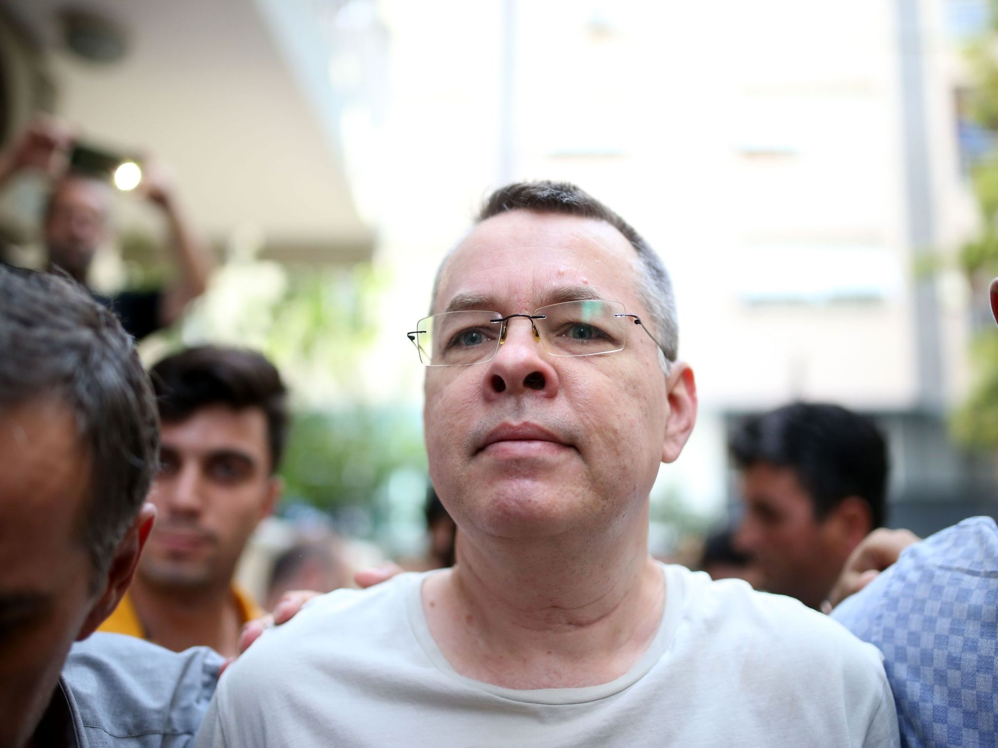 US Pastor Andrew Brunson imprisoned in Turkey faces a major week as speculations swirl that he could be granted his freedom and returned to his family