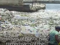Waves of plastic have turned parts of the Dominican Republic into a dump