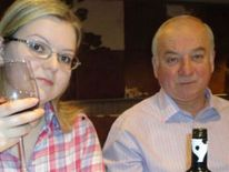 Sergei and Yulia Skripal were attacked with novichok and found slumped on a bench in Salisbury in March