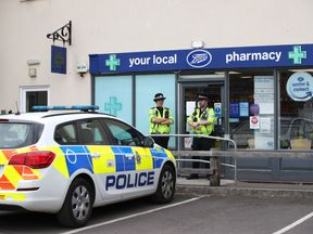 A Boots pharmacy in Amesbury was closed as part of the investigation