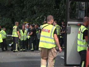Bus crash in Hampshire