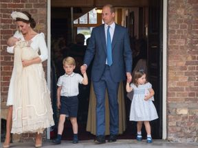 The Cambridges pictured together for the first time