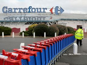 Carrefour is the largest supermarket retailer in France