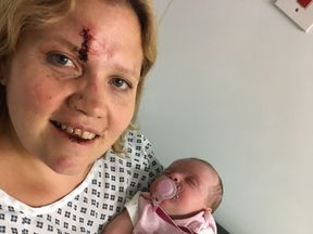 Claire O'Neill and daughter Eliza have been reunited. Pic: West Midlands Police