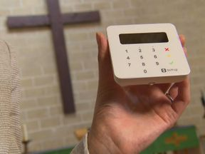The Church of England can now accept contactless payments