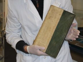 The volumes were subjected to X-ray analysis. Pic: University of Southern Denmark