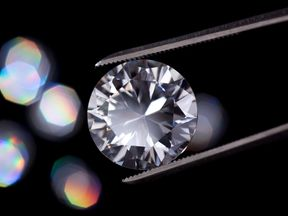Scientists have discovered 'a quadrillion tons' of diamond. File pic