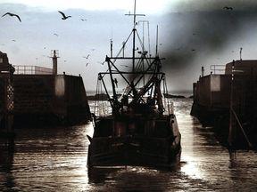 A fishing boat