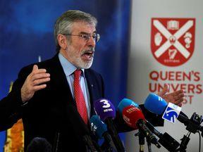 Gerry Adams, former Sinn Fein leader