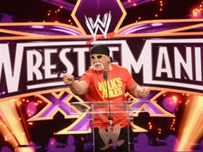 Hulk Hogan has been welcomed back into the WWE Hall of Fame