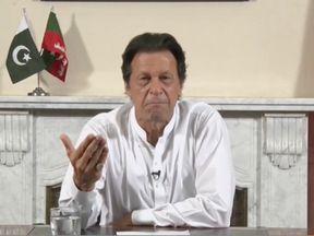 Imran Khan has pledged to create a 'new' Pakistan