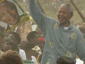 Nelson Mandela was released from prison in 1990