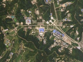The Sanumdong site, pictured on 29 July, produced N Korea's longest-range missiles