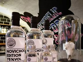The Novichok Edition vodka was released the day before Dawn Sturgess died. Pix: Bristol Dry Gin