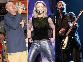 Phil Collins, Britney Spears and Coldplay feature on the landmark Now album