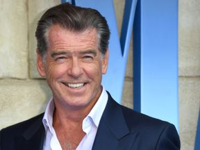 Actor Pierce Brosnan admits singing is not his strongest skill