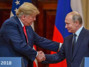 President Trump and President Putin denied collusion