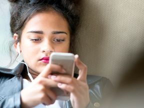 Teenagers are reporting seeing self-harm videos online