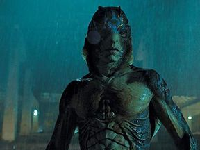 The amphibious creature is subjected to tests in a high-security government lab. Pic: Fox Searchlight