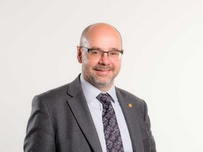 Plaid Cymru Assembly Member Simon Thomas, who has quit as an AM and the party amid a police investigation