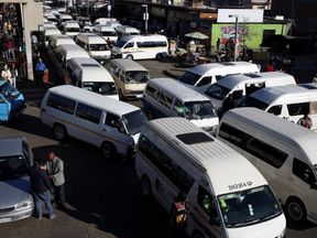 Rivalries between taxi groups has spilled into violence in South Africa. File pic