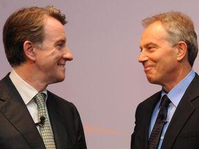 Lord Mandelson and Tony Blair