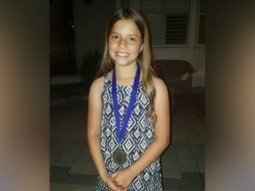 Julianna Kozis was ten years old Pic: Toronto Police Service