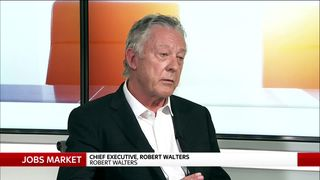 Robert Walters,  founder and chief executive of specialist recruitment firm Robert Walters Group.