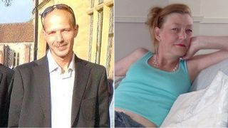 Charlie Rowley (L) and Dawn Sturgess