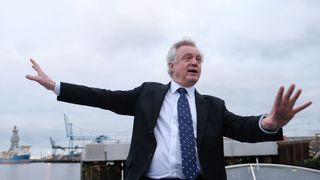 Secretary of State for Exiting the European Union David Davis who has resigned from the Government