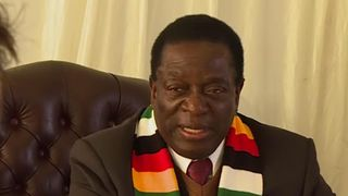 President Mnangagwa talks to Sky News