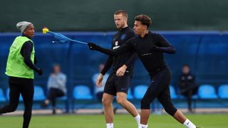 England's Dele Alli during training