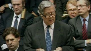 Geoffrey Howe's resignation speech to the Commons in 1990