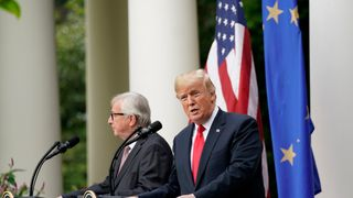 Donald Trump 'deal' with EU boss averts trade war