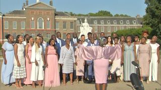 The Kingdom Choir sing 'Stand By Me' at Kensington Palace