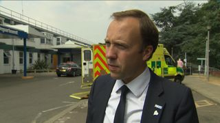 Health Secretary Matt Hancock on the NHS charm offensive.