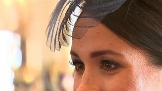 The Duchess of Sussex meets guests at Buckingham Palace reception