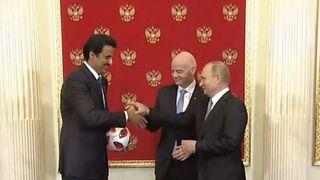 World Cup handover