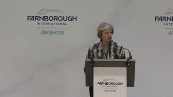 Theresa May speech at Farnborough International Airshow