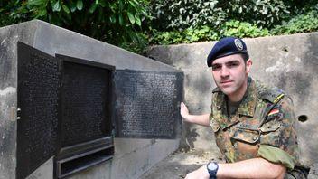 German Officer Captain Sebastian Kühne from Allied Rapid Reaction Corps based in Gloucester. Pic: Allied Rapid Reaction Corps