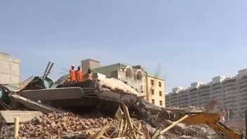 Building under construction collapses on to another in India causing fatalities