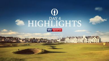 The Open: Day 4 Highlights
