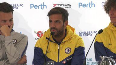 Fabregas: Sarri is fantastic