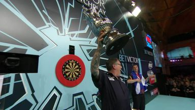 Anderson wins the World Matchplay